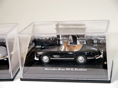 Herpa MB 300 SL Coupe + MB 300 SL Roadster 1:72
